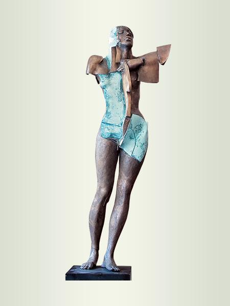 Sculpture, title: Star A