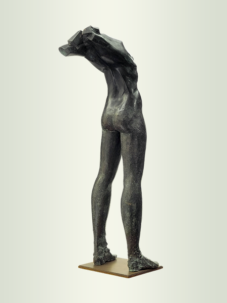 Sculpture, title: How Beautiful He Is I