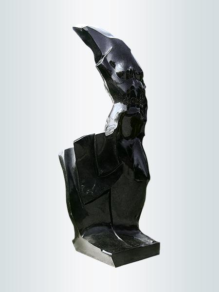 Sculpture, title: Lady