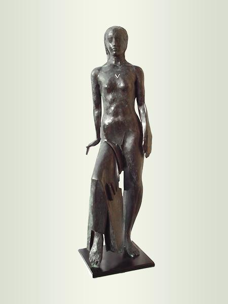 Sculpture, title: It's J...a