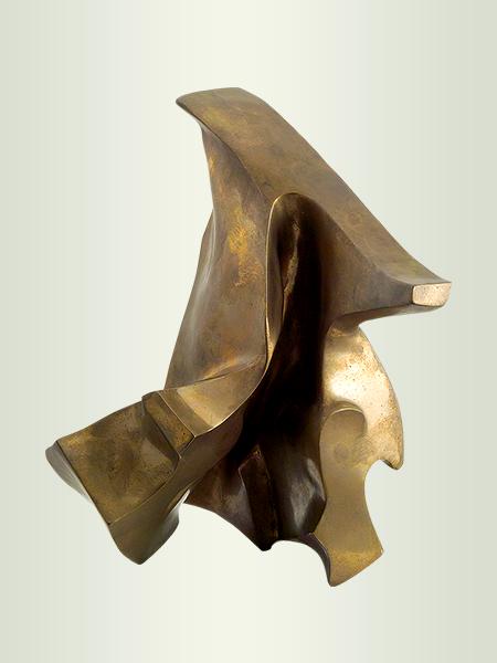Sculpture, title: Sign