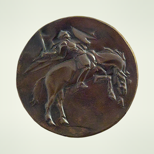 Medal, title: Horsemen of Apocalypse 2
