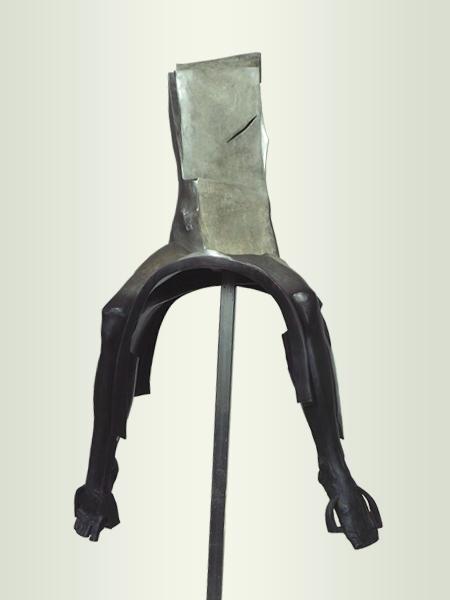 Sculpture, title: Rider 5