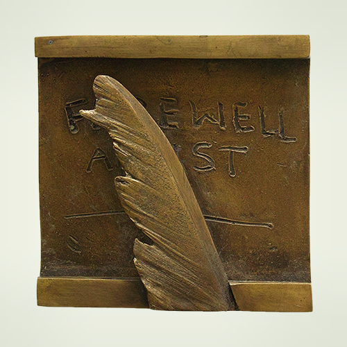 Medal, title: Farewell Artists