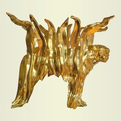 Designer object, title: Leopards